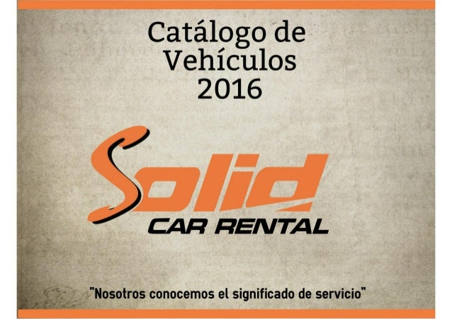 Solid Car Rental Costa Rica rent a car costa rica