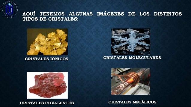 Solidos cristalinos alberto orihuela - Cristales climalit tipos ...