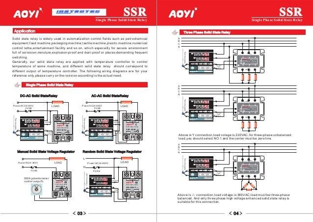 ssr 40da wiring diagram   23 wiring diagram images