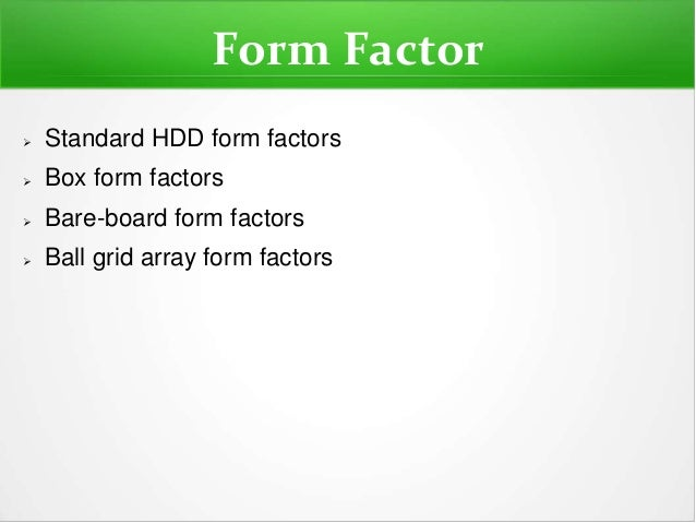 Array Of Factors Drives Students From >> Solid State Solid State Drives