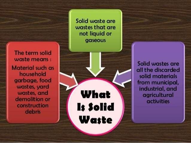 Solid waste and slug control Slide 3