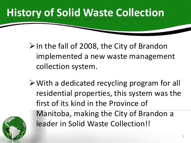 solid waste collection system pdf
