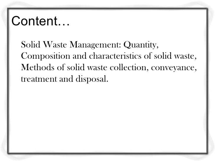 understanding solid waste management Solid waste handbooksolid waste handbook  surveying the solid waste management programs in indian nations show a wide variation  121 gaining understanding.