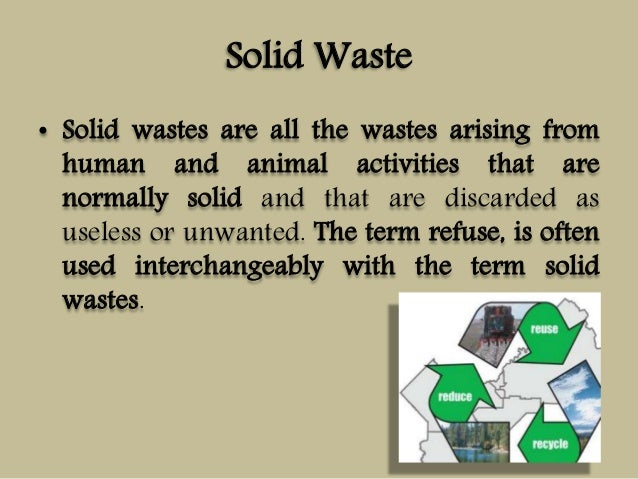 what is waste management pdf