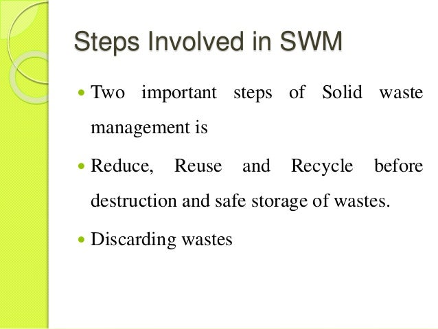 conversion of solid waste to methane Treatment and disposal of municipal, industrial and other solid waste produces significant amounts of methane (ch4) in addition to ch4, solid waste disposal sites (swds) also produce biogenic carbon dioxide chapter 3: solid waste disposal.