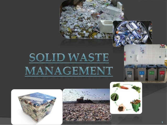 1. Introduction 2. Classification of solid waste i. Based on their sources of origin ii. Based on physical nature 3. Engin...