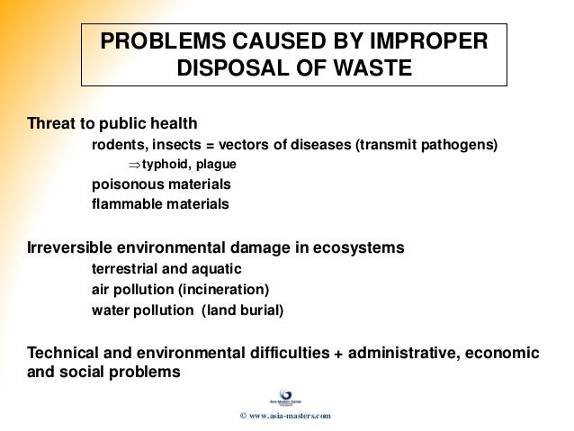 problems of solid waste management in Evaluating the problems of solid waste management in nigeria environmental science project topics and materials solid waste management control in uyo.