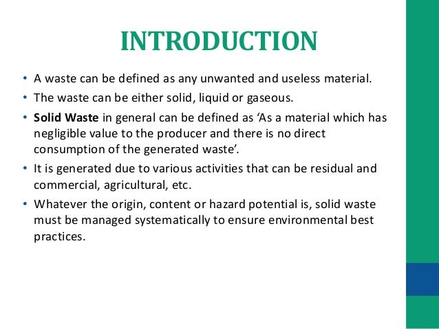 research on liquid waste management