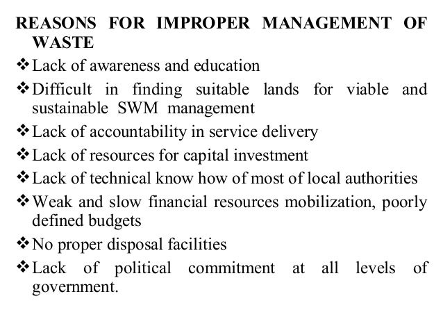 waste management in srilanka Solid waste management in sri lanka: policy & strategy waste, 2007 4 list of acronyms batneec best available technologies not entailing excessive costs.