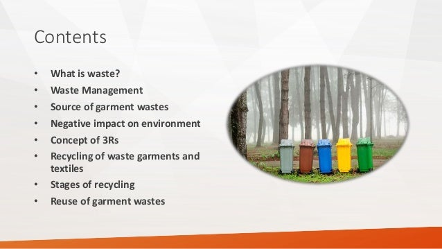 Solid Waste Management in garments industries in Bangladesh. Slide 2