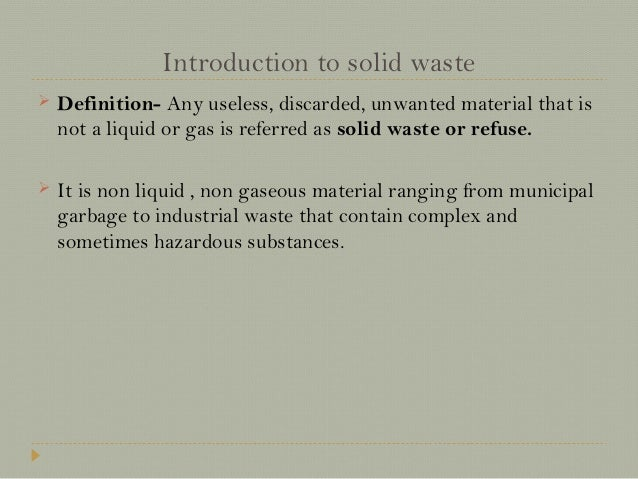 solid waste management thesis introduction Theme: masters thesis at department of development and planning  the  report addresses the problem of municipal solid waste management in two   this chapter serves as the general introduction, highlighting the issues of solid  waste.