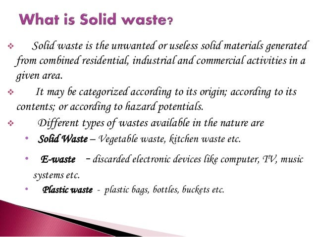 2.  Management Of Solid Waste ...