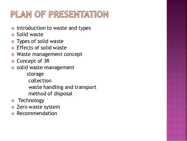 Municipal Solid Waste Management Ppt Image Gallery - Hcpr