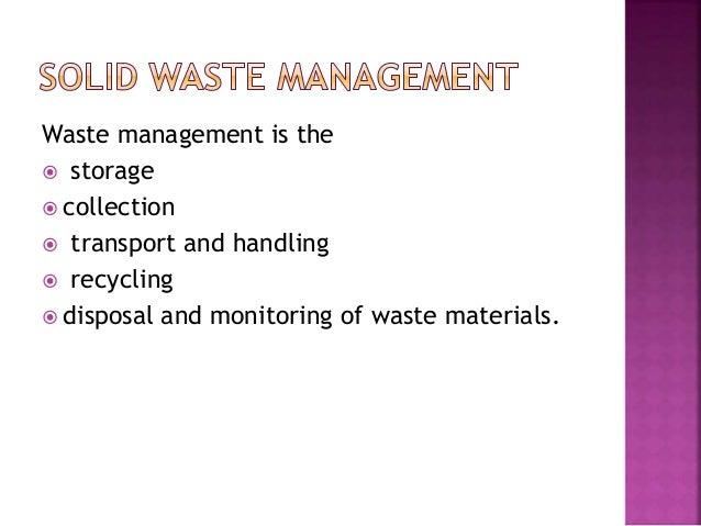 solid waste management ppt
