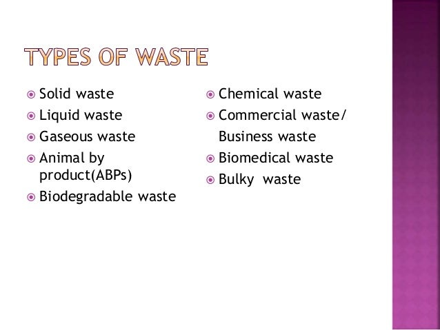 Good 4.  Solid Waste ... Amazing Ideas