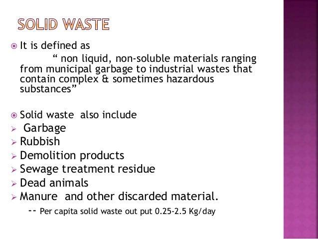 Solid Waste Management Pdf Files