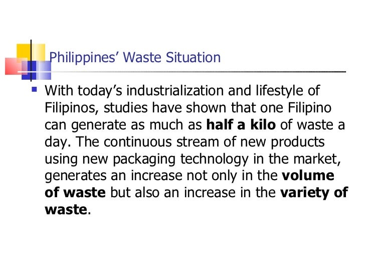 related studies about waste management Solid waste management of barangay 159, pasay city a research presented to research topics in public governance city university of pasay in partial fulfil.