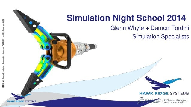 SOLIDWORKS Simulation Night School: Stress and Flow Analysis