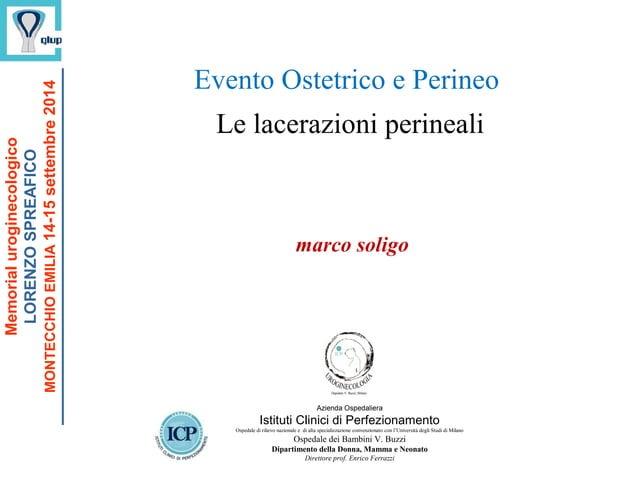 marco soligo Azienda Ospedaliera Istituti Clinici di Perfezionamento Ospedale di rilievo nazionale e di alta specializzazi...