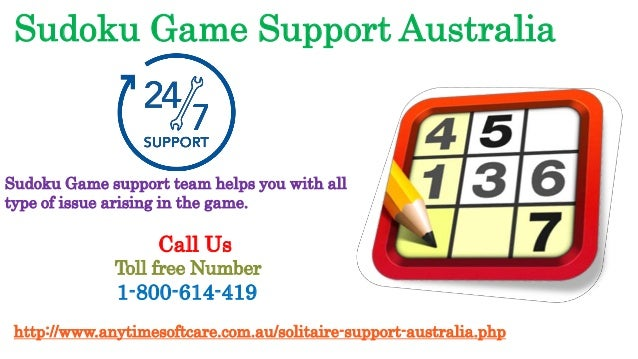 Smoothly Play Sudoku 1-800-614-419 | Instant Support by Expert