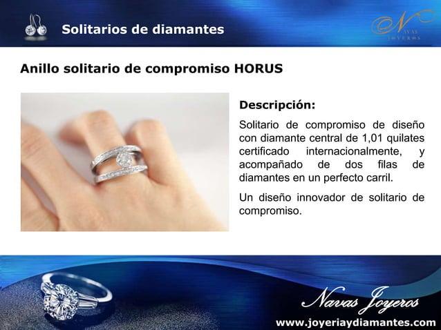 Anillos de compromiso (I): Solitarios de compromiso de diamantes y oro