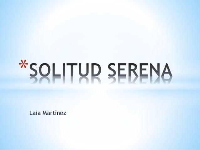 Laia Martínez *