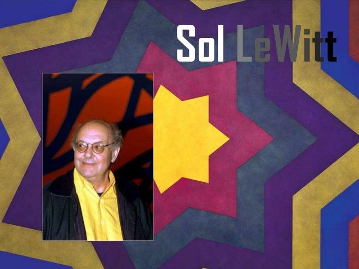 Sol LeWitt<br />