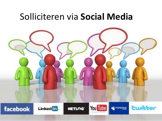 Solliciteren via Social Media