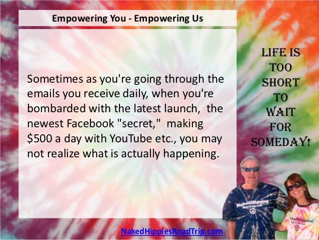 Empowering You - Empowering Us                                              Life is                                       ...