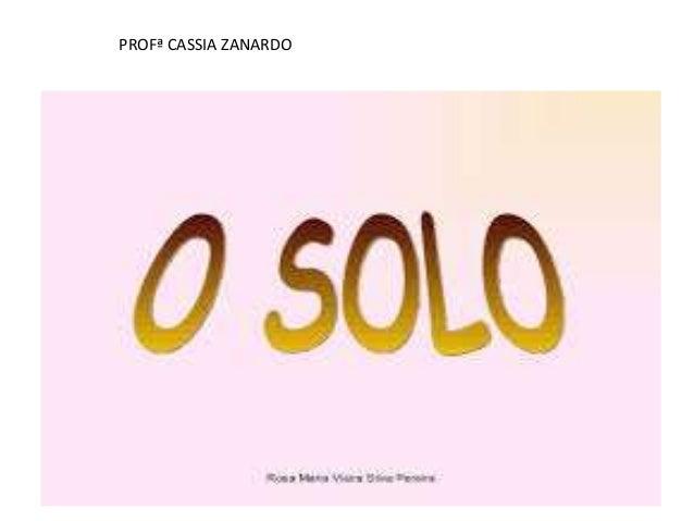 PROFª CASSIA ZANARDO