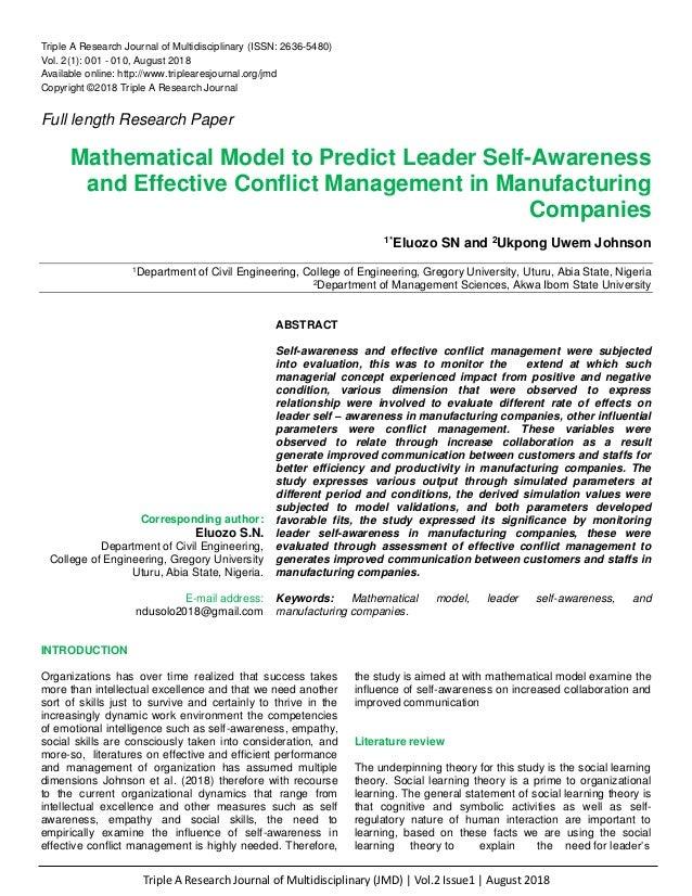 Triple A Research Journal of Multidisciplinary (JMD)   Vol.2 Issue1   August 2018 Triple A Research Journal of Multidiscip...