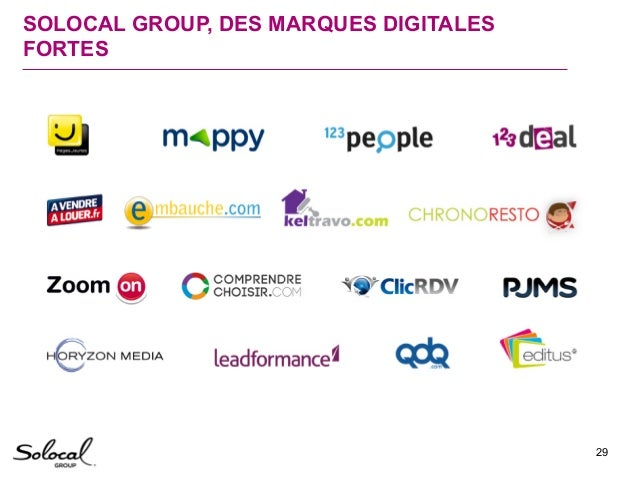 Solocal Group - Axes strategiques 2015