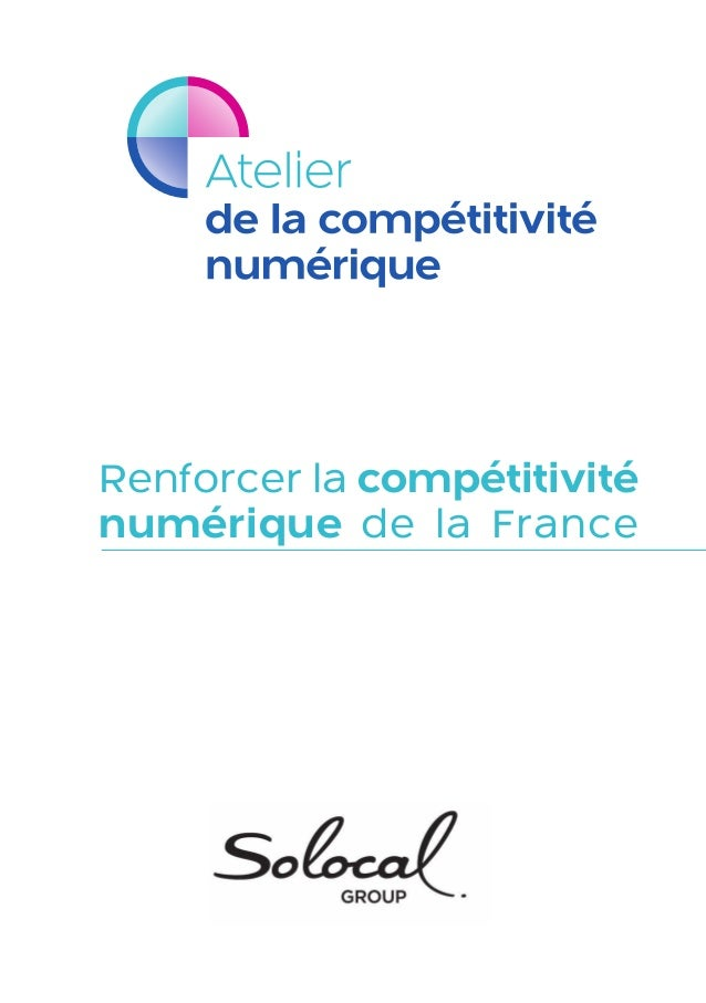 Renforcer la compétitivité numérique de la France