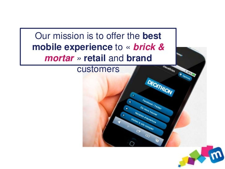 Build & manage a customer-           oriented mobile website Social                    Promos-           Geolocanetwork   ...