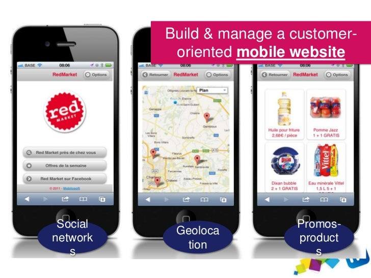Generate qualified traffic to      the mobile site