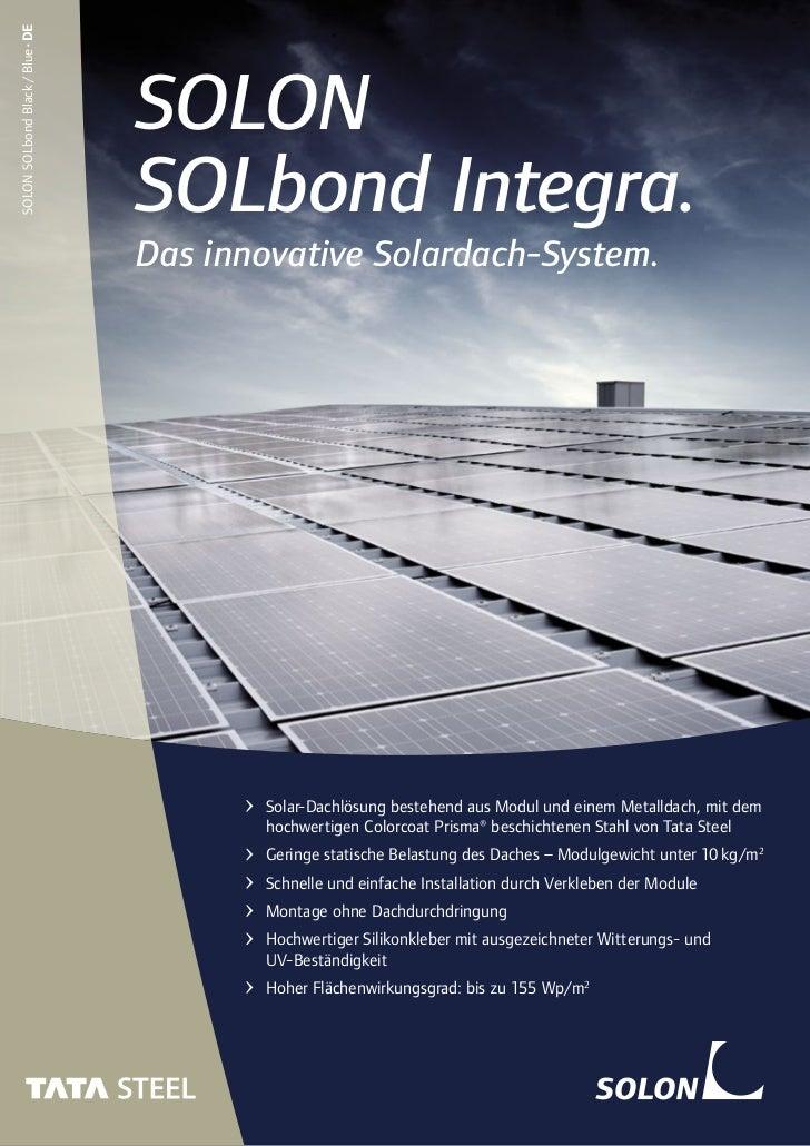 SOLON SOLbond Black / Blue•DE                                SOLON                                SOLbond Integra.        ...
