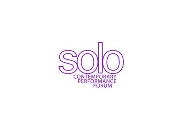 Co-ordinators of SOLO Misri Dey – Founder & Director Senior Lecturer in Music Theatre Falmouth University Tremough Campus ...