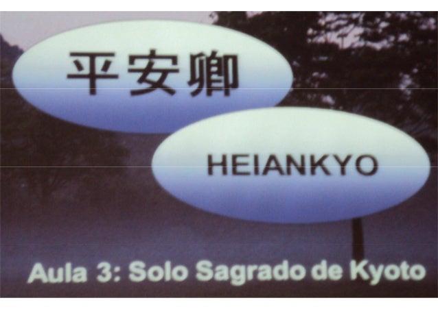 Solo Sagrado de kyoto - Japão