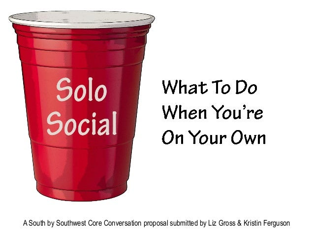 A South by Southwest Core Conversation proposal submitted by Liz Gross & Kristin Ferguson