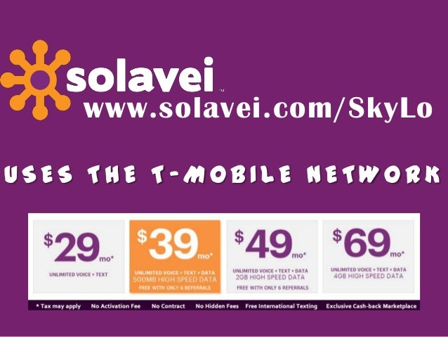 Cheapest Cell Phone Plan With No Contract Solavei T Mobile Knoxvill
