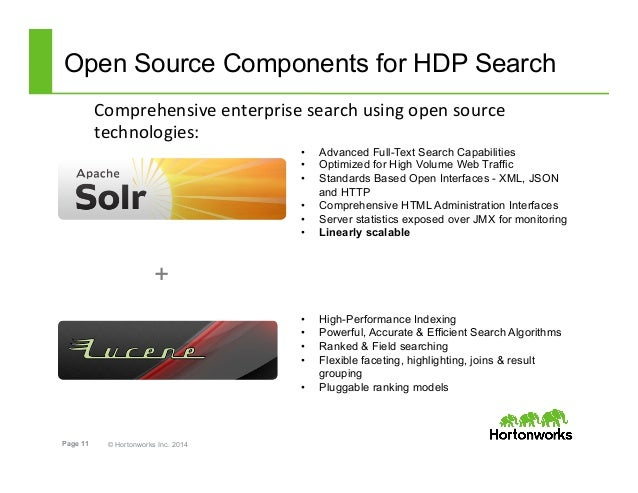 Discover Hdp 2 1  Apache Solr For Hadoop Search