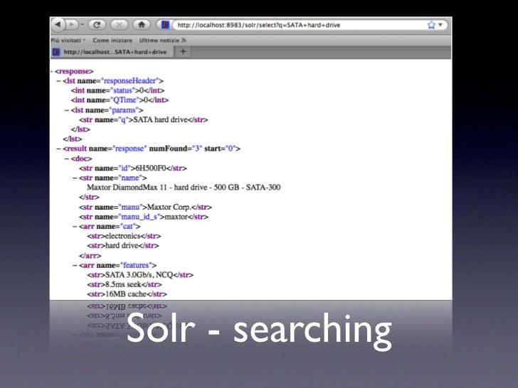 No JavaBin Solr Key/ Solr - SlideShare