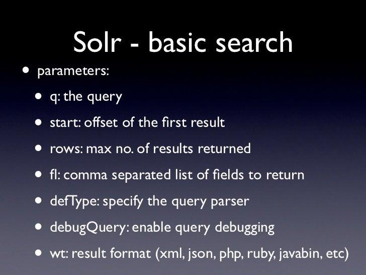 Solr - DSpace - DuraSpace Wiki