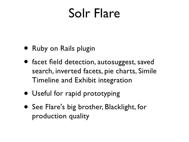 Solr Query Syntax and Examples - Open source search and ...