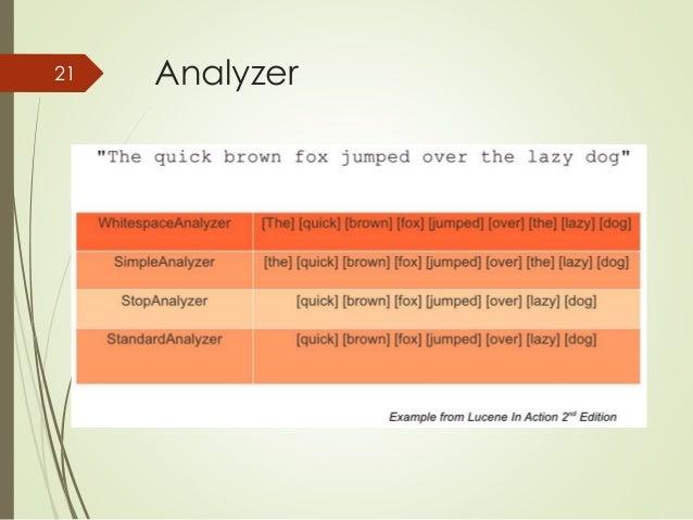 21 Analyzer