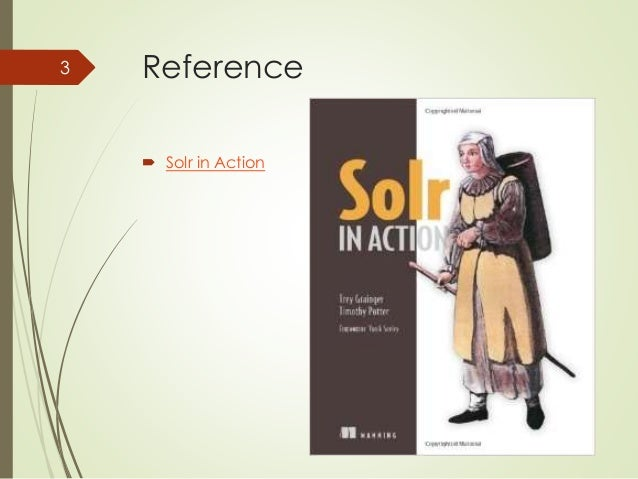 Reference   Solr in Action  3