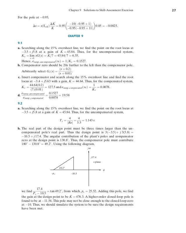 control systems engineering nise 7th pdf