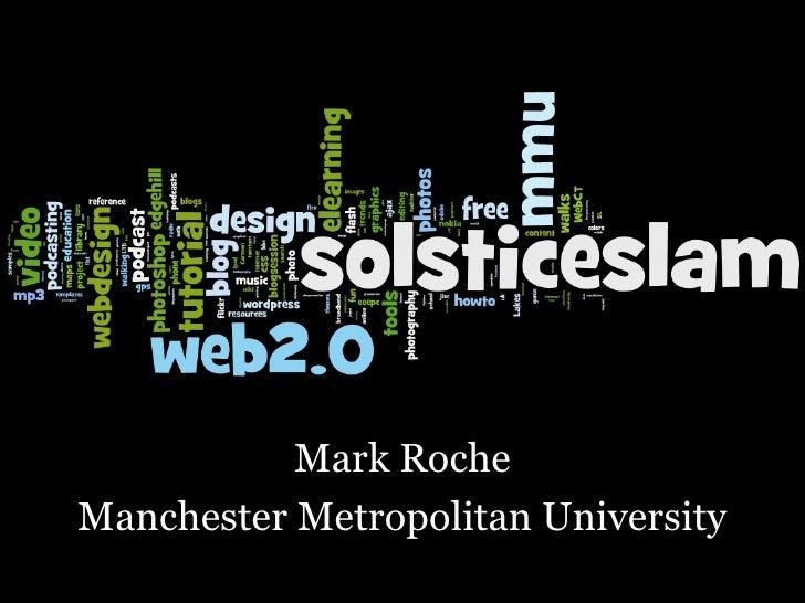 Mark Roche Manchester Metropolitan University
