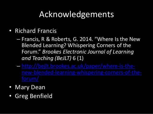 The new blended learning Slide 2