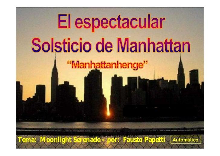 ……………………………Tema: Moonlight Serenade - por: Fausto Papetti   Automático